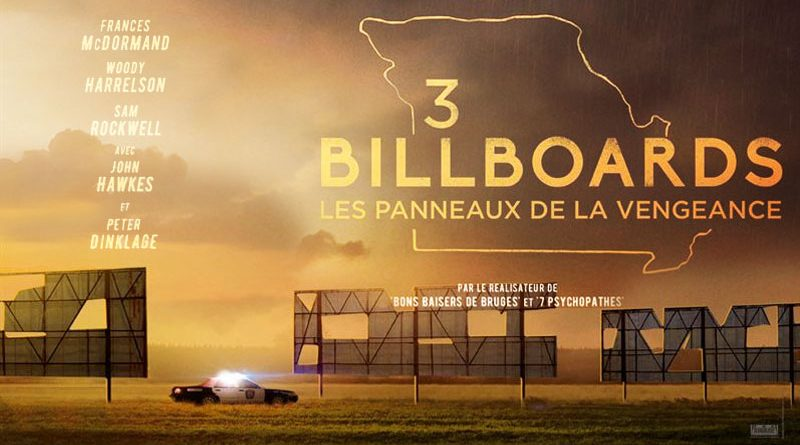 3 Billboards, Les Panneaux De La Vengeance