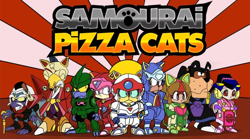 Samouraï Pizza Cats