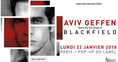 Aviv Geffen - Pop up Du Label - Paris - 22/01/2018