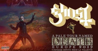 Ghost A Pale Tour Named Death