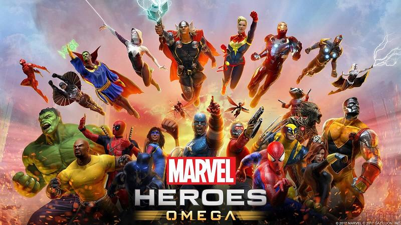marvel heroes omega sortie pr vue sur ps4 et xbox one actus jeux vid o freakin 39 geek. Black Bedroom Furniture Sets. Home Design Ideas