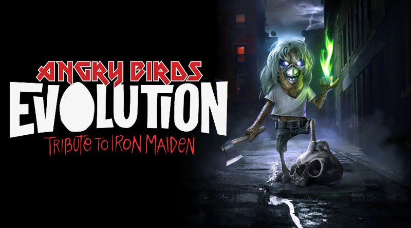 Angry Birds Evolution : Iron Maiden