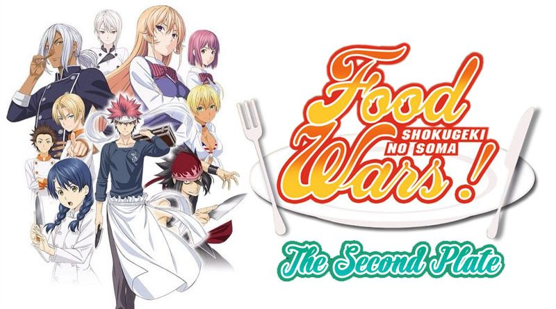 Food Wars Second Plate