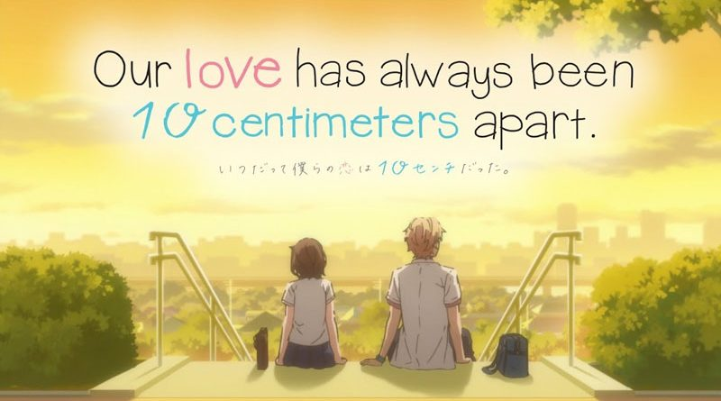 Our Love Has Always Been 10 Centimeters Apart