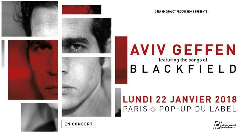 Aviv Geffen - Pop up Du Label - Paris - 22/01/2018