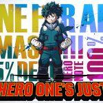 MY HERO ONE'S JUSTICE, le premier jeu vidéo My Hero Academia sur consoles de salon et PC [Actus Jeux Vidéo]