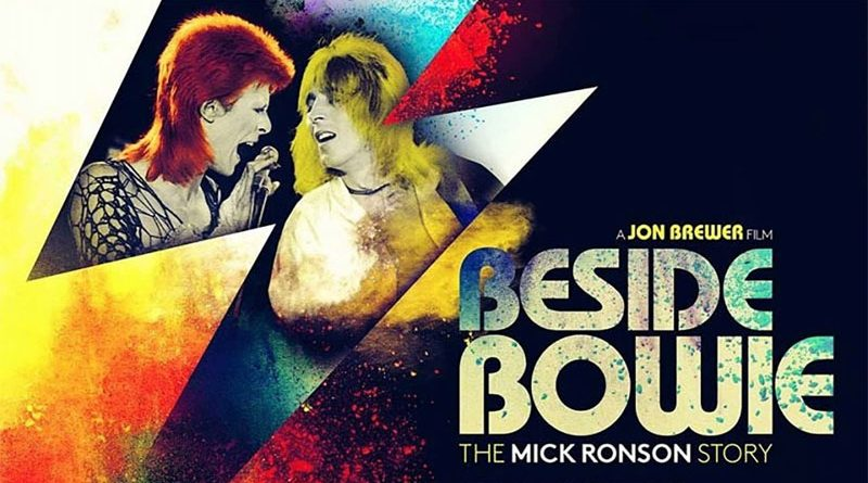 Mick Ronson Beside Bowie
