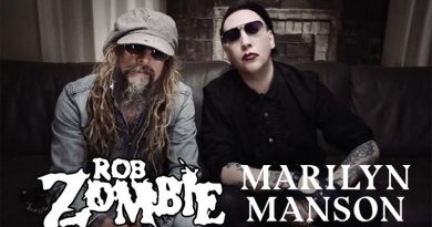 Rob Zombie Marilyn Manson