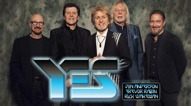 Yes featuring Jon Anderson, Trevor Rabin et Rick Wakeman