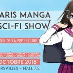 PARIS MANGA & SCI-FI SHOW OCTOBRE 2018, Compte rendu du salon