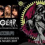 FATE GEAR – LE RÉACTEUR, PARIS / ISSY LES MOULINEAUX – 16 MARS 2019 [Chronique Concert]