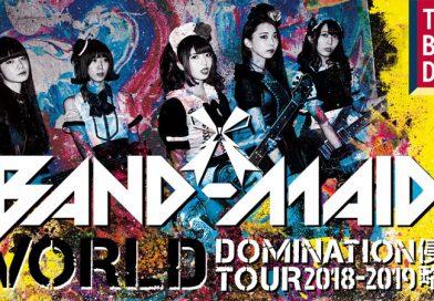 BAND-MAID – LE TRABENDO, PARIS – 23 JUIN 2019 [Chronique Concert]