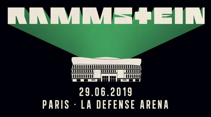 Rammstein - Paris La Défense Arena - 29 Juin 2019