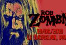 Rob Zombie - Bataclan, Paris - 14/06/201