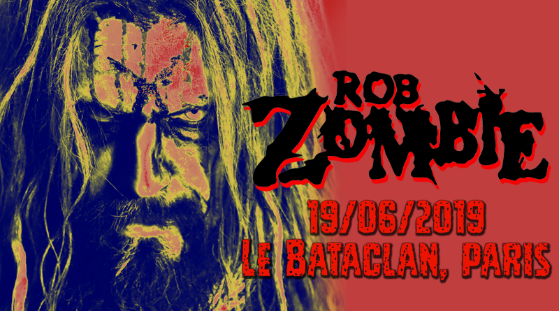 Rob Zombie - Bataclan, Paris - 14/06/201