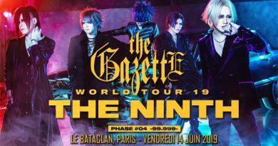 The Gazette - Le Bataclan - Paris - 14/06/2019