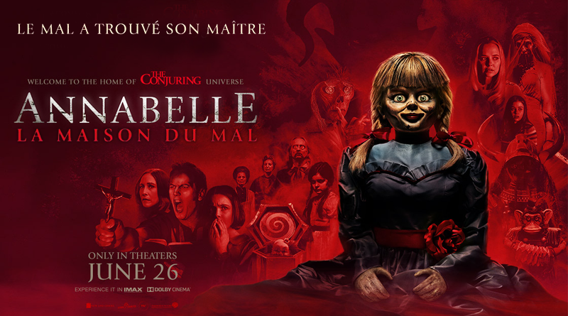 ANNABELLE - LA MAISON DU MAL de Garry Dauberman [Critique Ciné