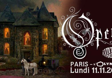 Opeth - L'Olympia - Paris - 11 novembre 2019