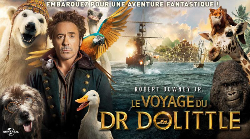 vostFR]]]~Le voyage du Dr Dolittle Streaming VF Film Complet