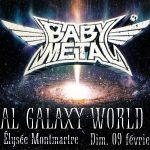 BABYMETAL – METAL GALAXY WORLD TOUR – L'ÉLYSÉE MONTMARTRE, PARIS – 9 FÉVRIER 2020 [Chronique Concert]
