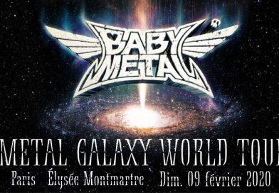 BabyMetal Elysee Montmartre - 9 février 2020
