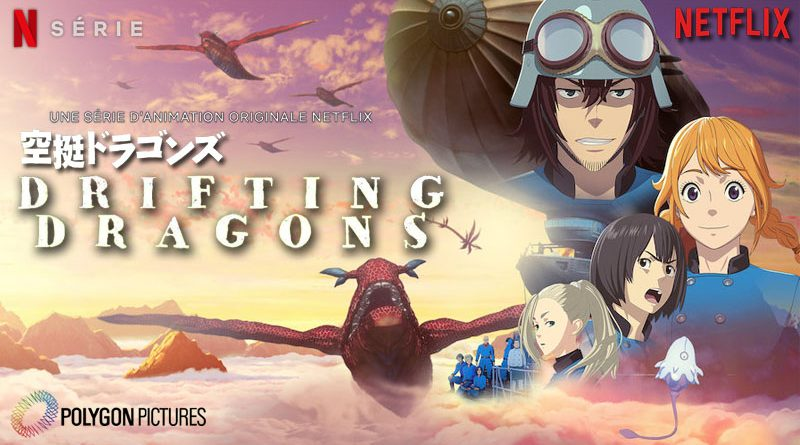 Drifting Dragons - Netflix