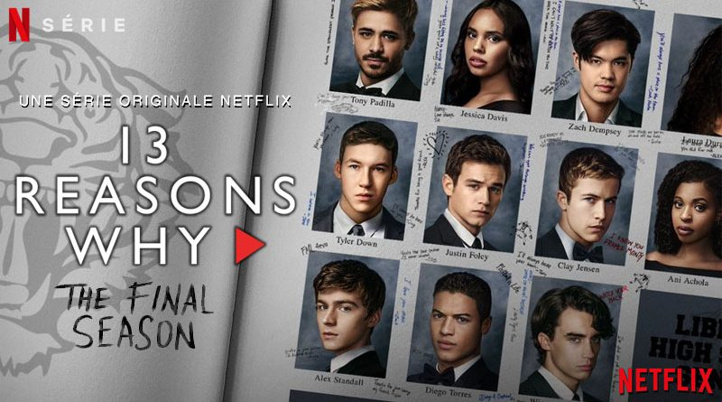 13 Reasons Why Saison 4 Netflix