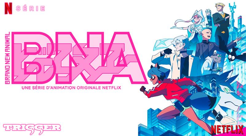B.N.A. - Brand New Animal - Netflix
