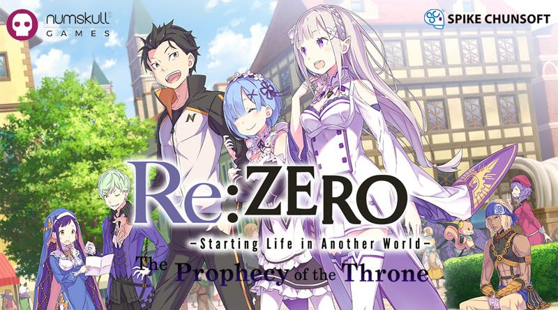 Re:Zero- Starting Life In Another World : The Prophecy Of The Stone
