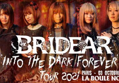 Bridear - La Boule Noire, Paris - 03/10/2021